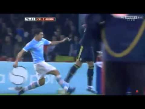 Pepe Kicks Out at Largo  Celta Vigo vs Real Madrid, 12/12/2012