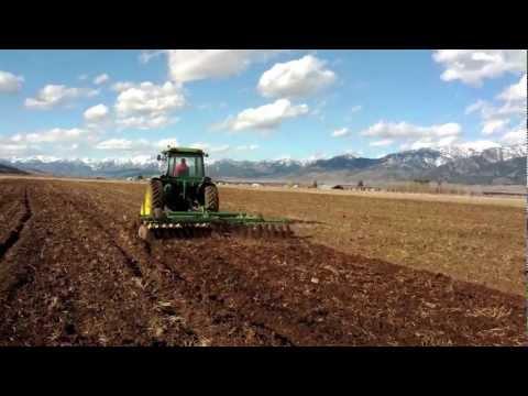 John Deere 4230 Chisel Plowing and Disking