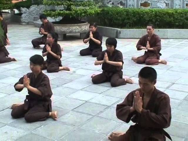 Len chua hoc vo Thieu Lam