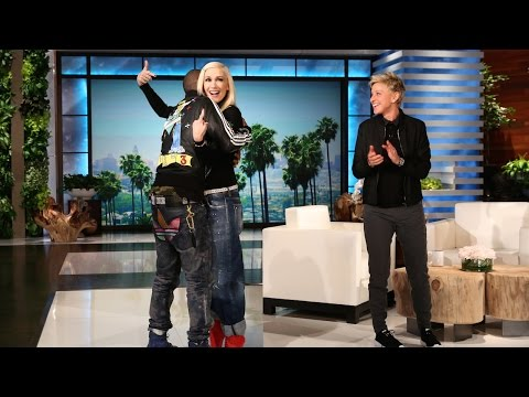 Gwen Stefani Gets a Big Surprise
