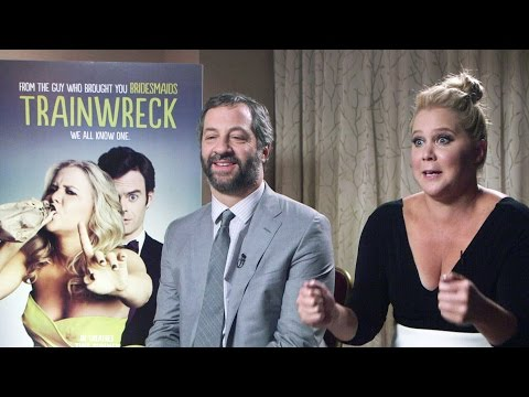 Trainwreck? Judd Apatow, Amy Schumer  Dish On New Flick