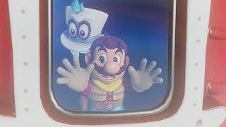 Super Mario Odyssey Walkthrough Part 2 - Sand Kingdom (Nintendo Switch)