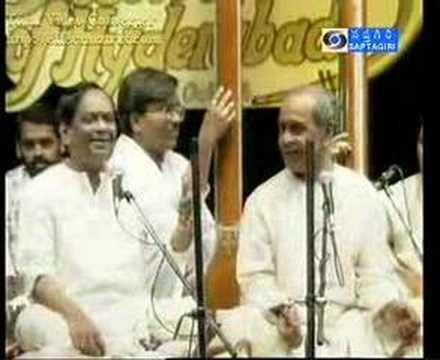 Pt Bhimsen Joshi & Dr Balamurali Krishna Yaman Kalyan