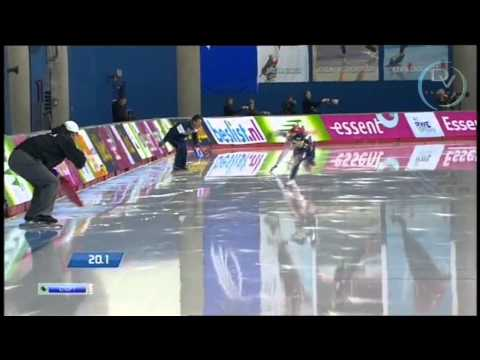 Sang-Hwa Lee & Olga Fatkulina 500m, Calgary 2013, 1st round