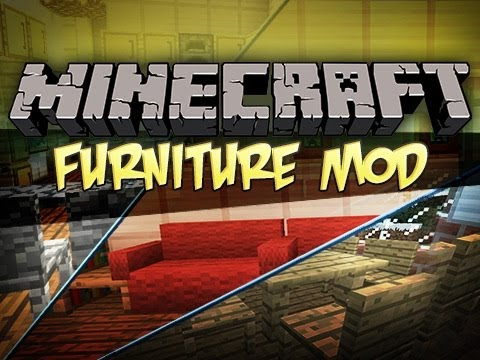 Minecraft: Furniture Mod