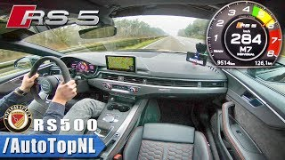AUDI RS5 MANHART RS500 AUTOBAHN 284km/h by AutoTopNL