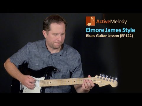 James Elmore - Slide Guitar Lick