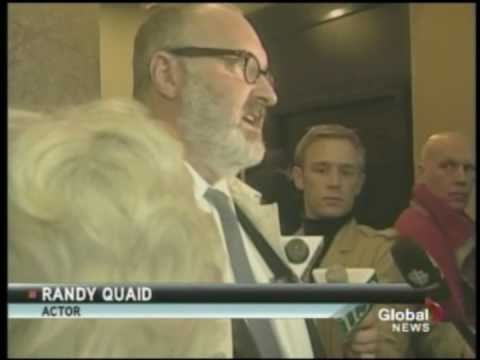 Actor Randy Quaid alleges celebrity killers are out to get him
