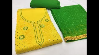 Zardozi Embroidery Hand Work Designer Suits || fancy dress/party dresses for girls/churidar design