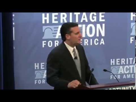 Sen. Ted Cruz at the 2015 Heritage Action Conservative Policy Summit