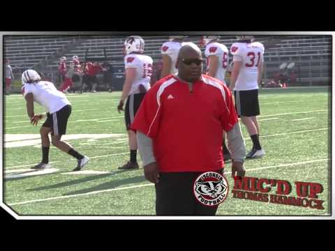 Wisconsin Football Mic'd Up: Thomas Hammock