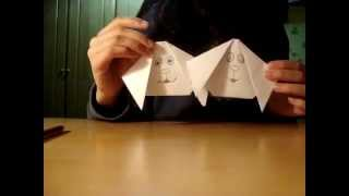 Origami:how To Make Dog Face ..!