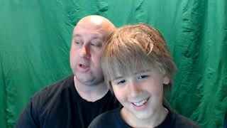 Camden - with Dad - Bad Dad Jokes Sept 2019