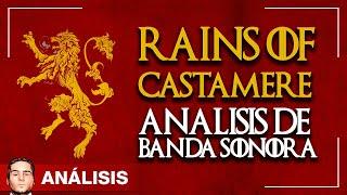 Rains of Castamere - Análisis de Juego de Tronos
