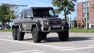 Mercedes-Benz G63 6 X 6 - Exhaust notes & Acceleration sounds