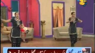 Chan Chana Chan Mujra - Deedar And Nargis Dance   Pakistani Mujra.flv