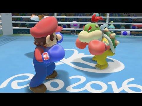 Mario and Sonic at the Rio 2016 Olympic Games - Boxing Gameplay
