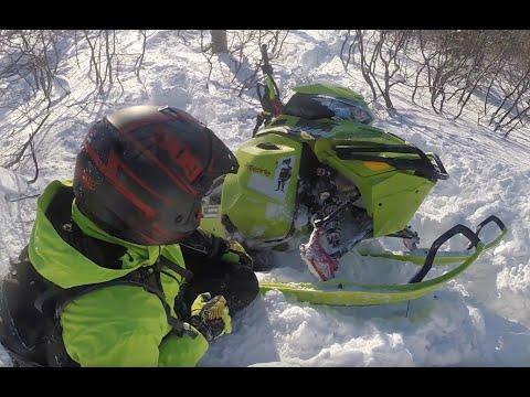 Горные снегоходы бензовозы! покатушка Полярный Урал 03062016 GA
