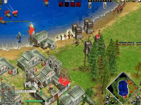 Age of mythology the TITANS 1V1 online match