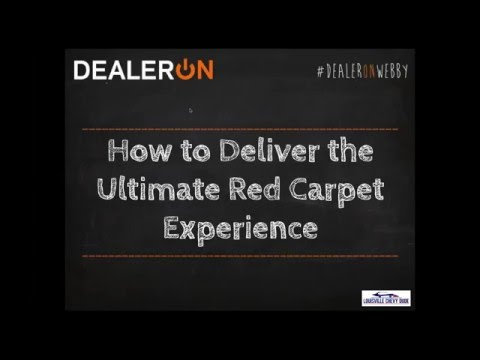 How to Deliver the Ultimate Red Carpet Experience