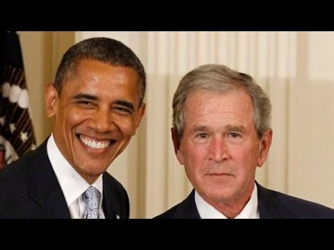 Obama Marches to War In Syria + Gives Immunity To Bush For Iraq
