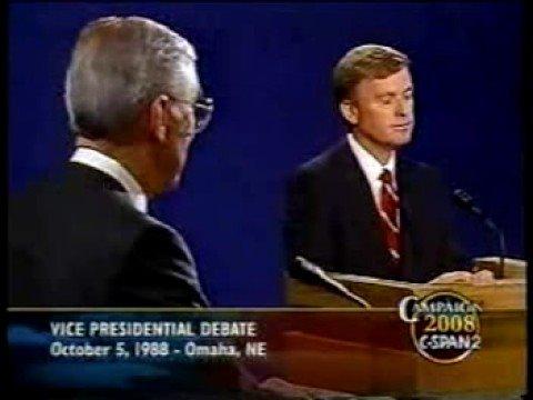 """Senator, you're no Jack Kennedy"" ('88 VP Debate)"