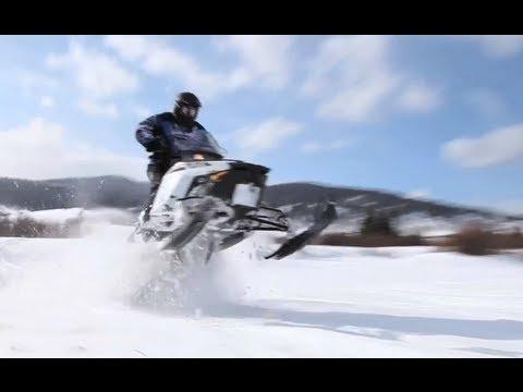2013 Polaris Switchback 600 Snowmobile Review