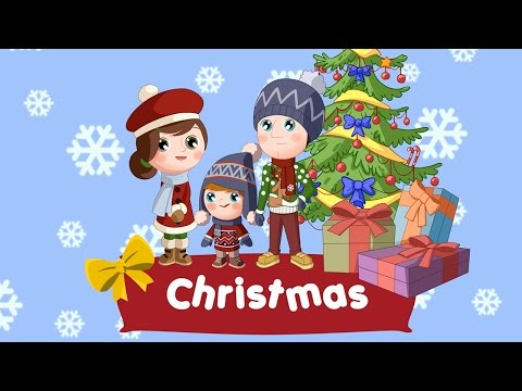 Christmas words for kids (flashcards video)