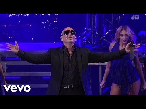 Pitbull - Don't Stop The Party (live On Letterman) video