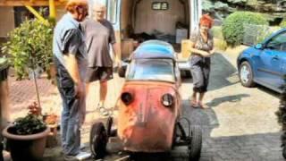 Messerschmitt Kabinenroller KR 200 Restauration Teil1