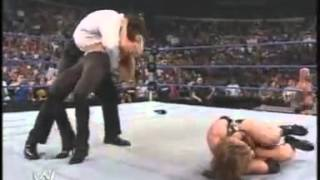 A-Train Destroys Stephanie McMahon