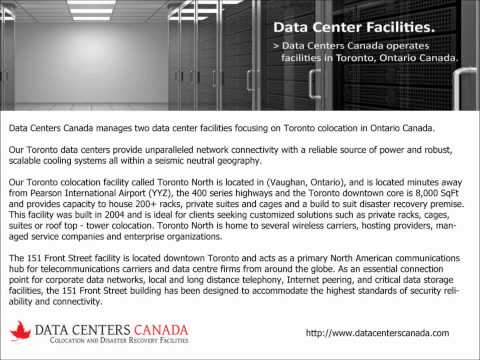 Full Rack Colocation at Data Centers Canada