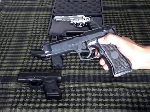 Minha Coleção de Pistolas Airsoft.