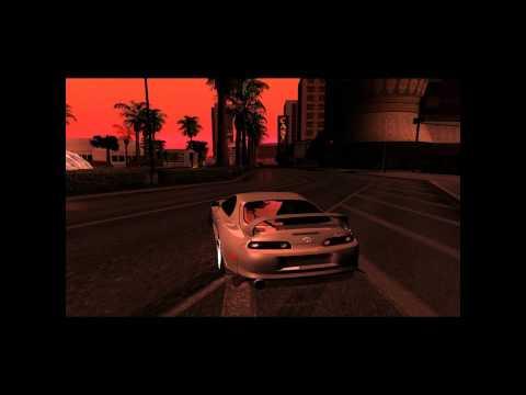[GTA:SA] Las Venturas The Strip Drift....with Toyota Supra 1998 D1 [1080HD]