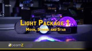 BeamZ Light Package 1 - Moon, Strobe and Star 153.736