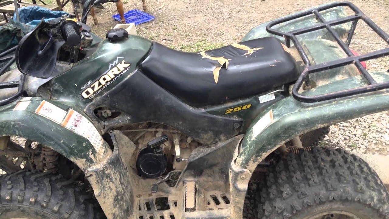 Suzuki Ozark Quadrunner  Carburetor