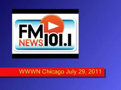 Radio Newscast Epic Fail - 101.1 FM Chicago 7/29/11
