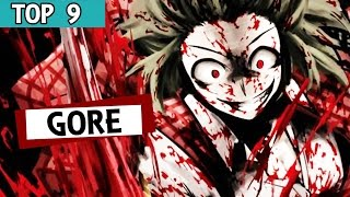 9 Mejores Animes Gore !!