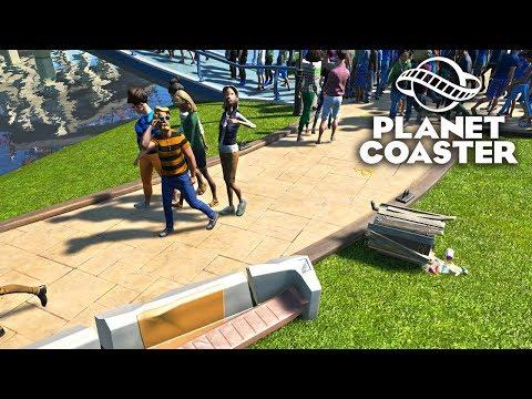Planet Coaster - Парк взбунтовался! #12