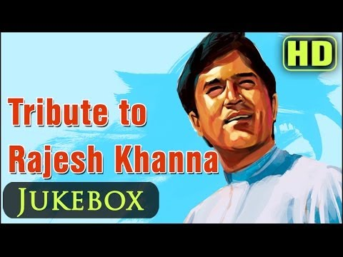 Rajesh Khanna Hit Songs Collection - Top 25 Bollywood Old Superhits...