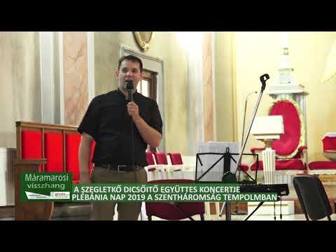 A Szegletkő dícsőítő együttes koncertje a Szentháromság templomban, 1 rész