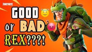 Good or Bad Rex Jonesy - New Dino Jonesy Hero in Fortnite STW