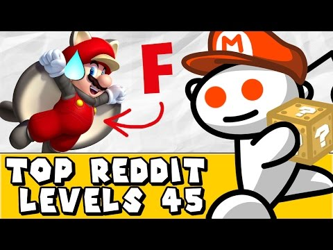 Super Mario Maker: Fail With Flying Colours?! (Reddit #45)
