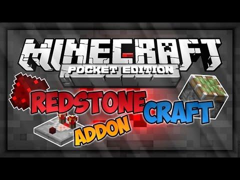 Minecraft pe 0.11.0 редстоун мод