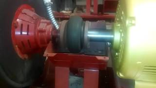 40HP 3 Phase Baldor Electric Motor Starting