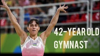 42 Year Old Gymnast Competed At Rio 2016