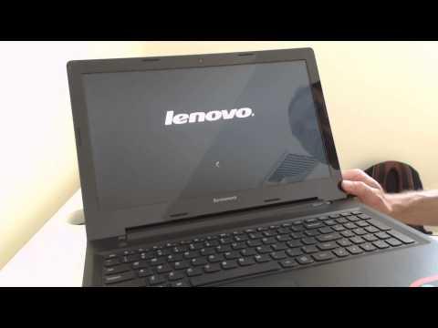 Lenovo G50 Laptop Factory Windows Restore Instructions