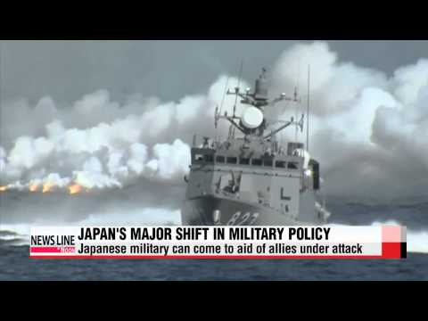 Japan adopts resolution allowing collective self-defense