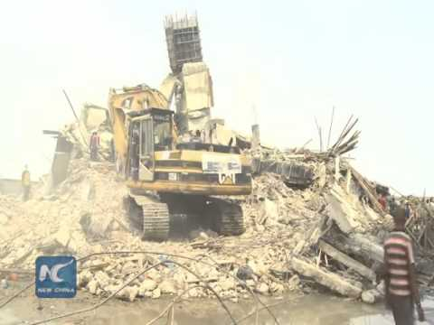 18 dead in Lagos building collapse
