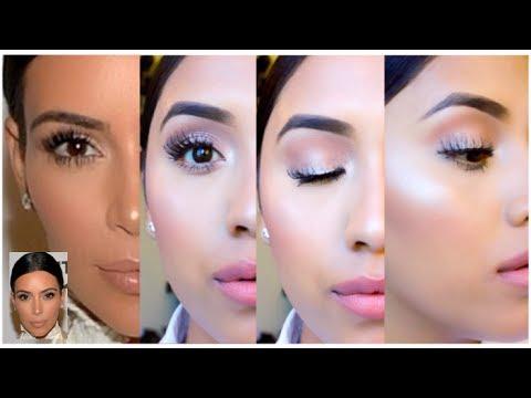 Kim Kardashian Dewy Makeup Tutorial | Glowy Skin 2014